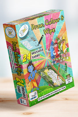 Draw, Color & Wipe (3 In 1)