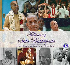Following Srila Prabhupada, Complete Set of 11 DVDs