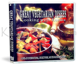 Great Vegetarian Dishes Cooking with Kurma(DVD)