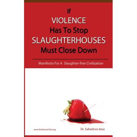 If VIOLENCE Has To Stop SLAUGHTERHOUSES Must Close Down