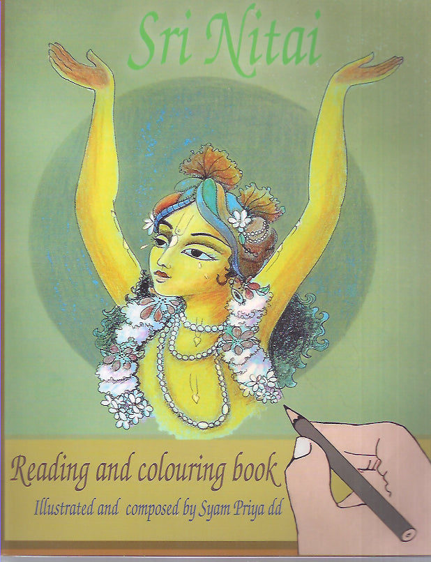 SRI NITAI READING AND COLORING BOOK