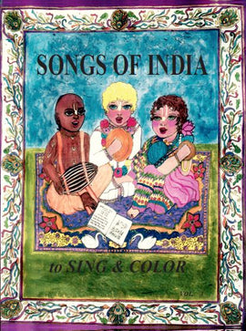 Songs of India to Sing & Color
