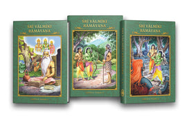 Sri Valmiki Ramayana (Canto 1 in 3 Volumes)