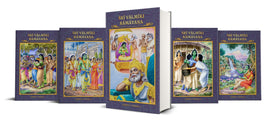 Sri Valmiki Ramayana (Canto 2 in 5 Volumes)