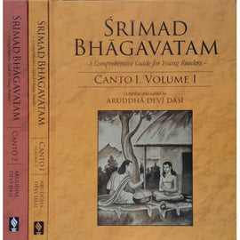 Srimad Bhagavatam For Young Readers(Set of 3 Books)