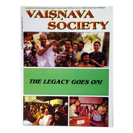 The Legacy Goes On(Vaisnava Society 2