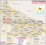 Vrindavana  Map