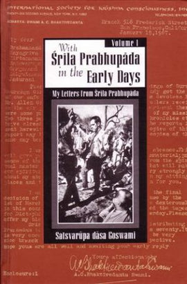With Srila Prabhupada In The Early Days – Hardbound