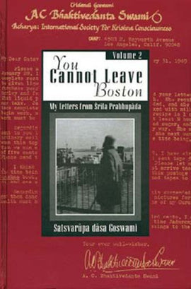 YOU CANNOT LEAVE BOSTON - Hardcover