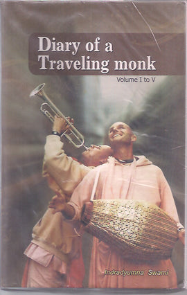 DIARY OS A TRAVELING MONK  VOL 1 to 5