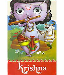 CUT OUT STORY BOOKS: KRISHNA