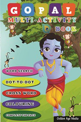 Gopal Multi-Activity Book