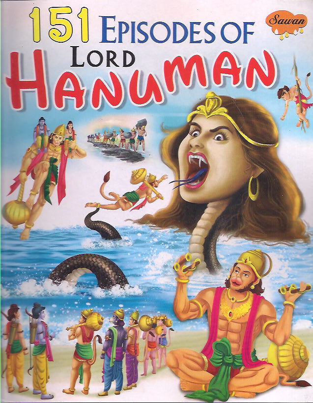 151 Episodes Of Lord Hanuman