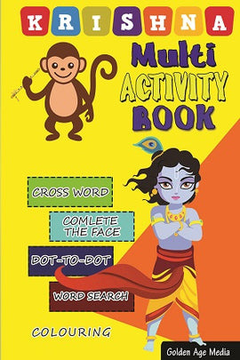 Krishna Multi-Activity Book