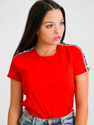 "T-SHIRT ROUGE ""ORIGINAL"""