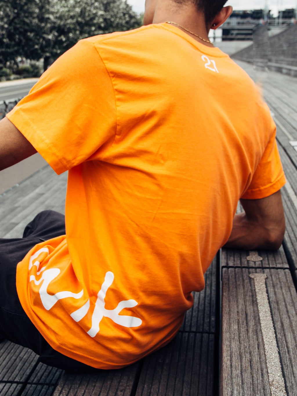 "T-SHIRT ORANGE ""ORIGINAL"""