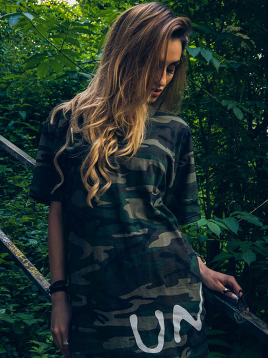 T-SHIRT OVERSIZE MILITARY
