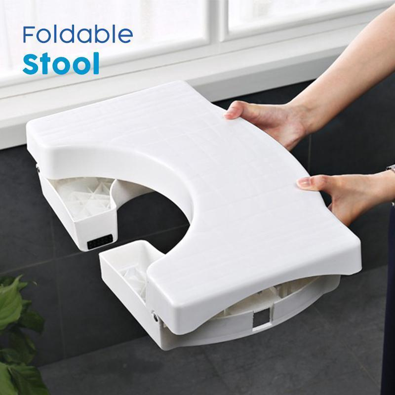Folding Multi Function Toilet Stool Mellowhisky