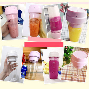 Portable Magnetic Juicer Bottle