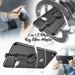 2-in-1 I-Phone Ring Elbow Adapter