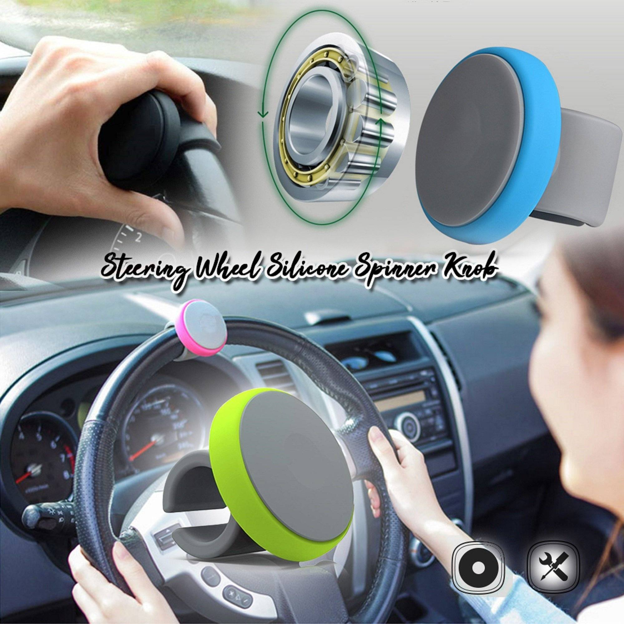 Steering Wheel Silicone Spinner Knob
