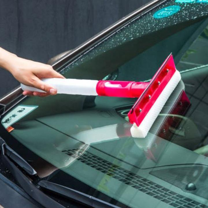 3-in-1 Folding Water Spray Squeegee