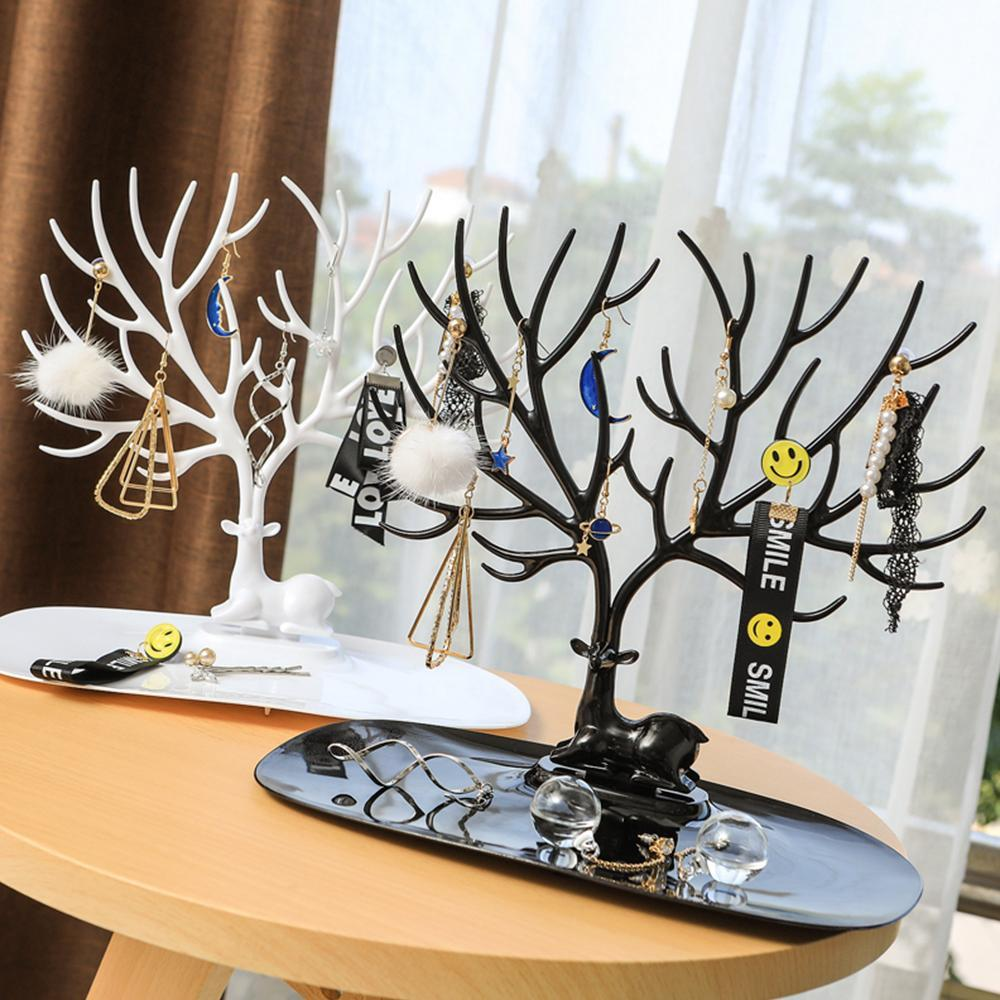 Creative Antler Jewelry Rack