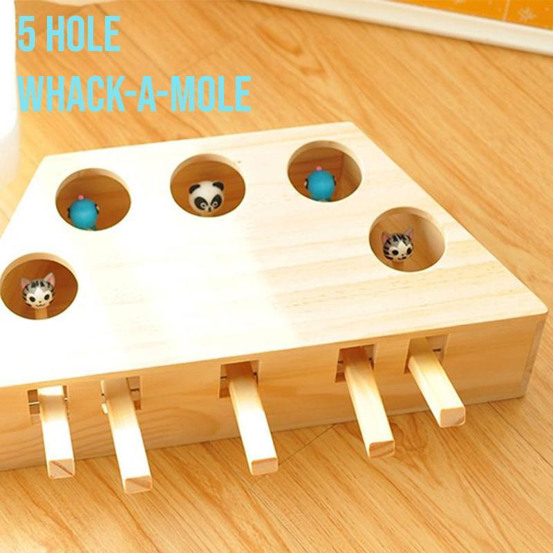 Whack-A-Mole Cat Toy