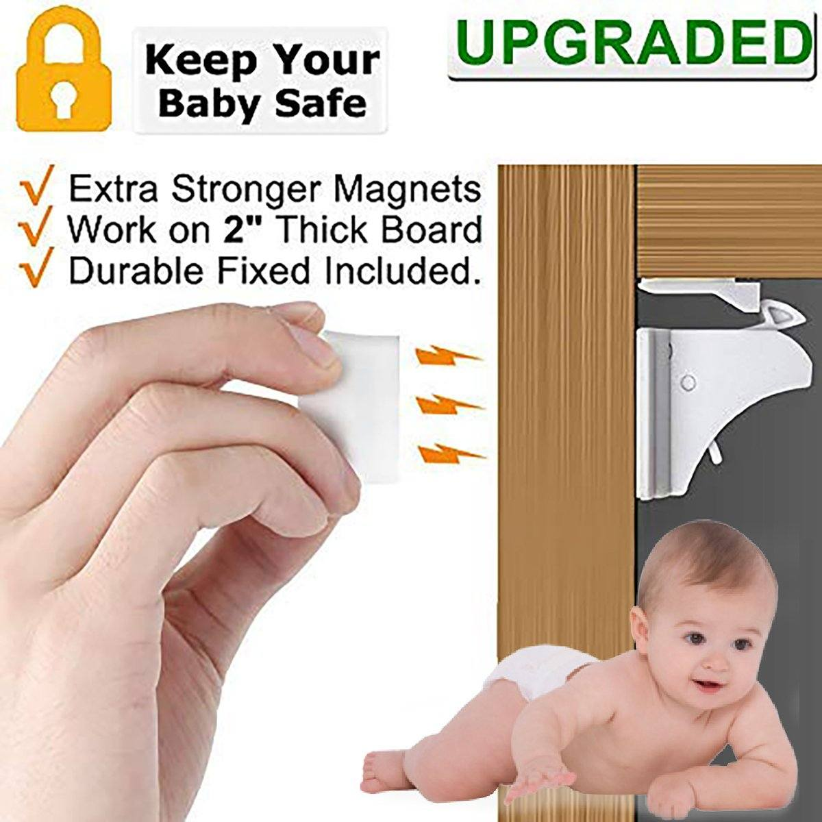 Safety Magnetic Cabinet Locks