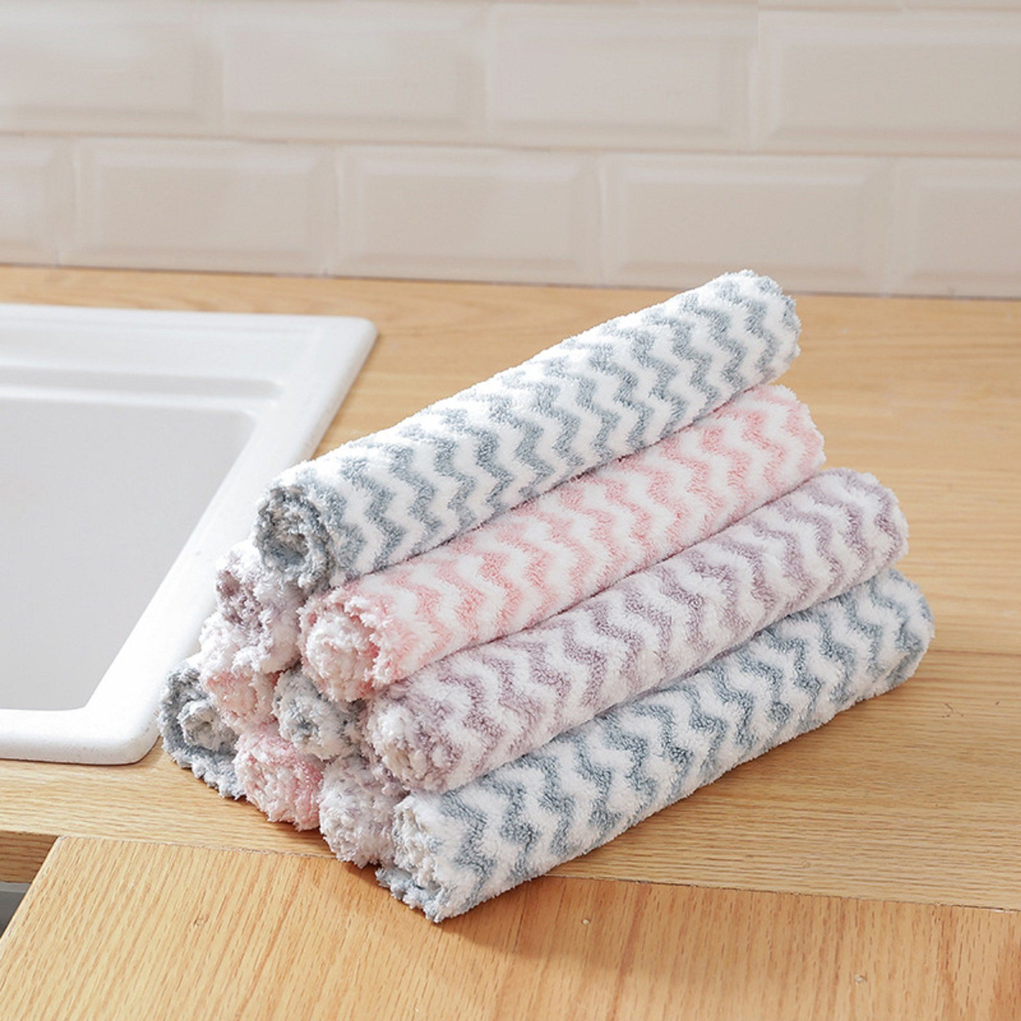 Water-Absorbent Anti-Oil Towel - Set For 10