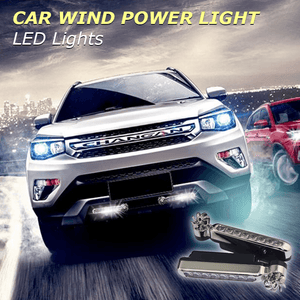 Car Wind Power Light LED Lights