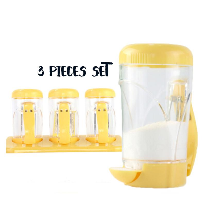 Quantitative Healthy Diet Spice Jar Set