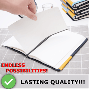 Magnetic Notebook with Removable Magnetized Pages