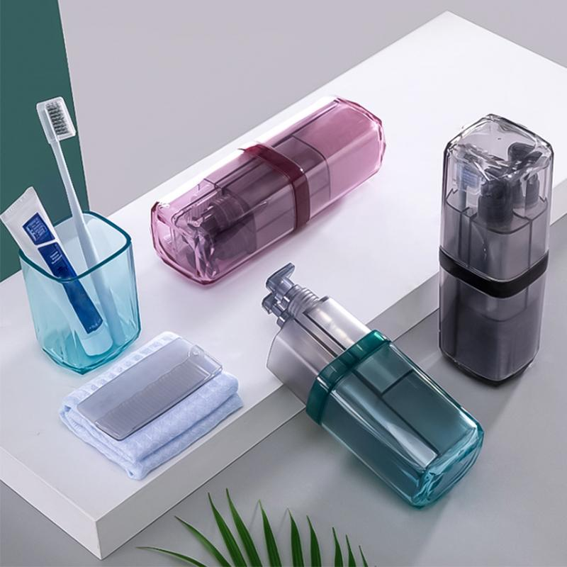 Toiletry Travel Portable Toothbrush Cup Set