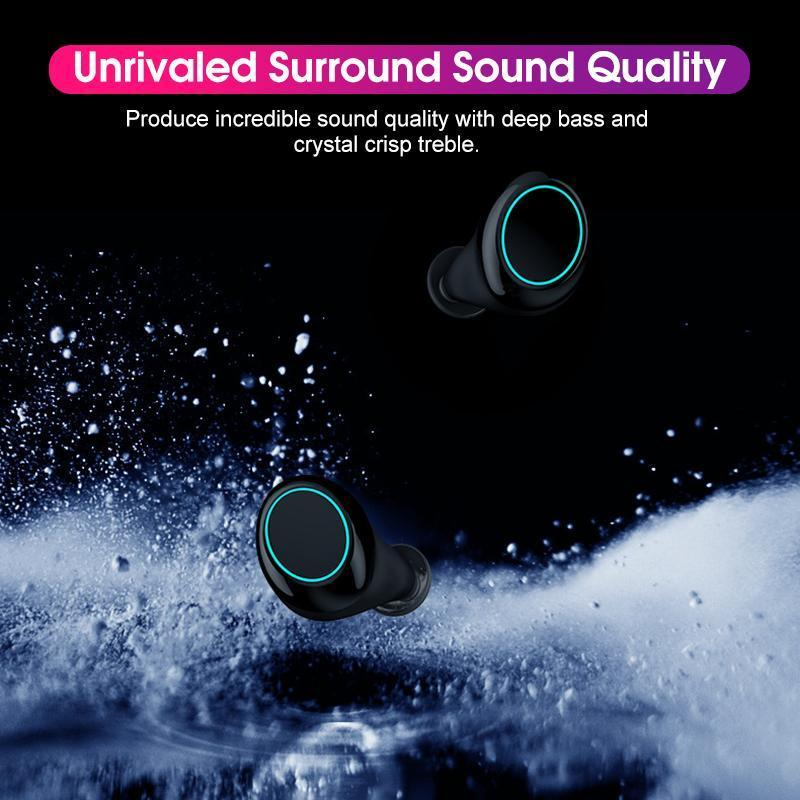 Bluetooth HIFI Stereo Wireless  Earphones