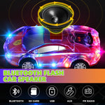 Bluetooth Flashing Car-Shape Speaker