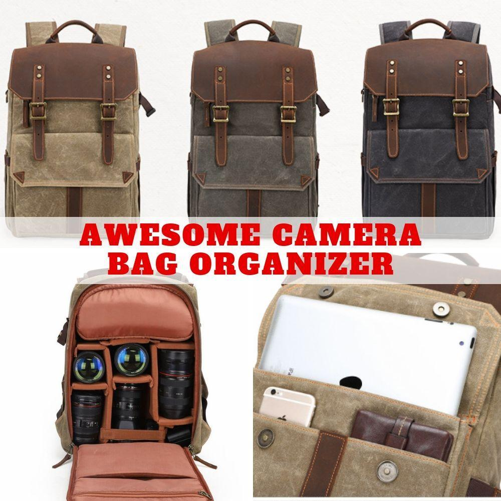Classy Waterproof Durable Camera Backpack