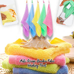 Anti-Grease Bamboo Fiber Washing Towel