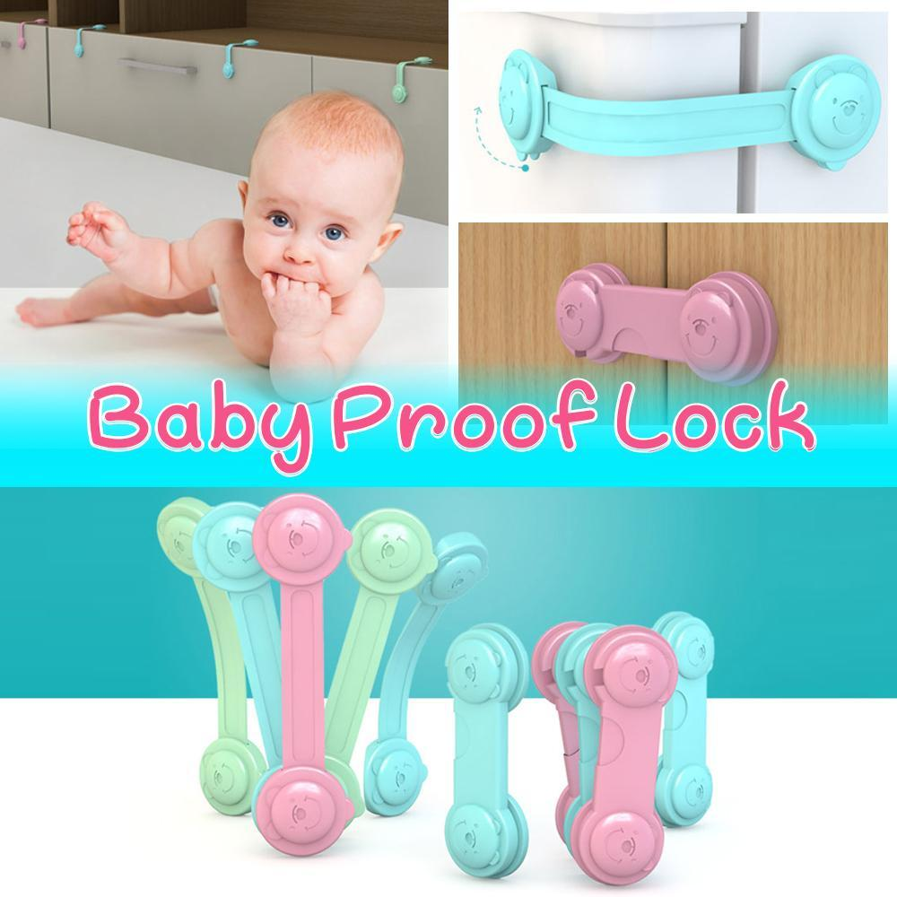 Anti-Pinch Baby Proof Lock - Set For 10