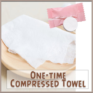 One-time Compressed Towel - 50pcs
