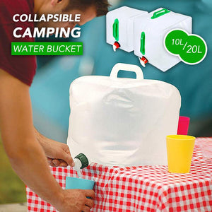 Collapsible Camping Portable Water Bucket