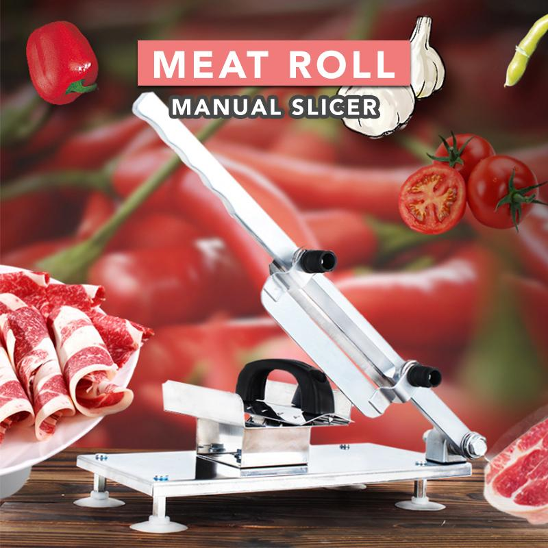 Meat Roll Manual Slicer