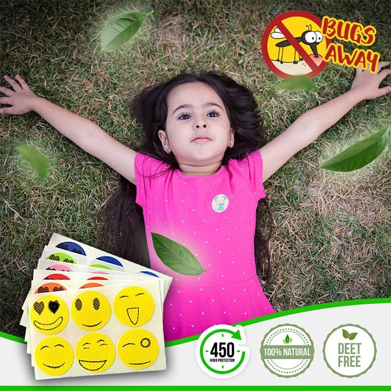 Bugs Away Natural Mosquito Repellent Patch