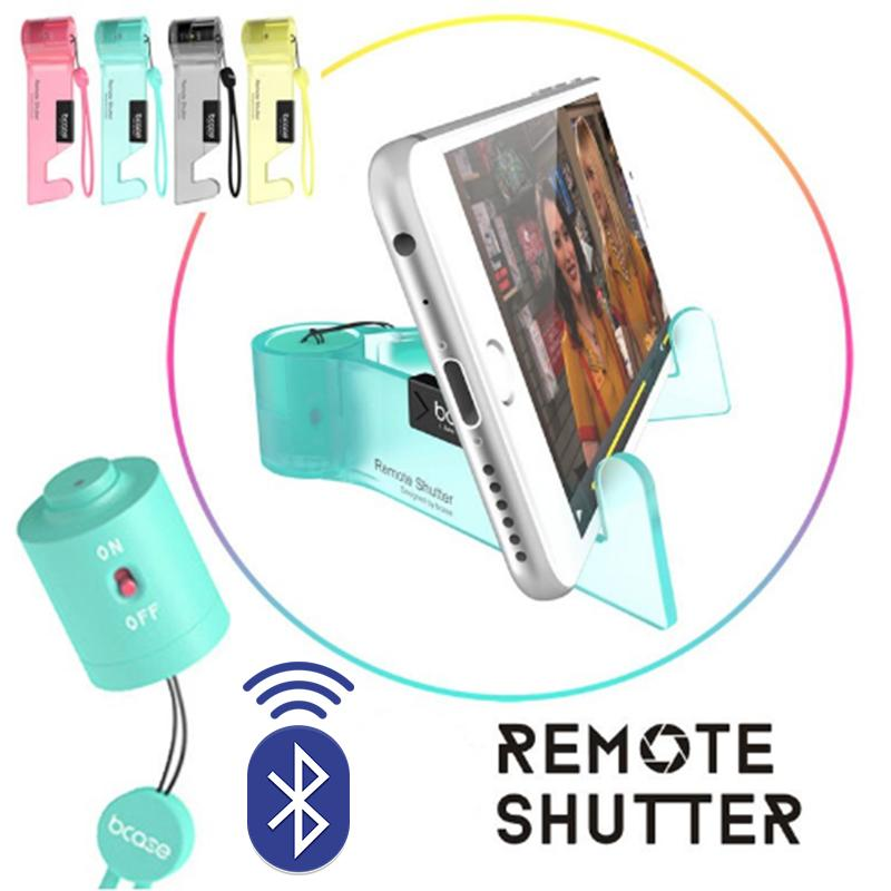Remote Shutter Phone Stand