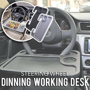 Car Steering Wheel Dinning Working Desk