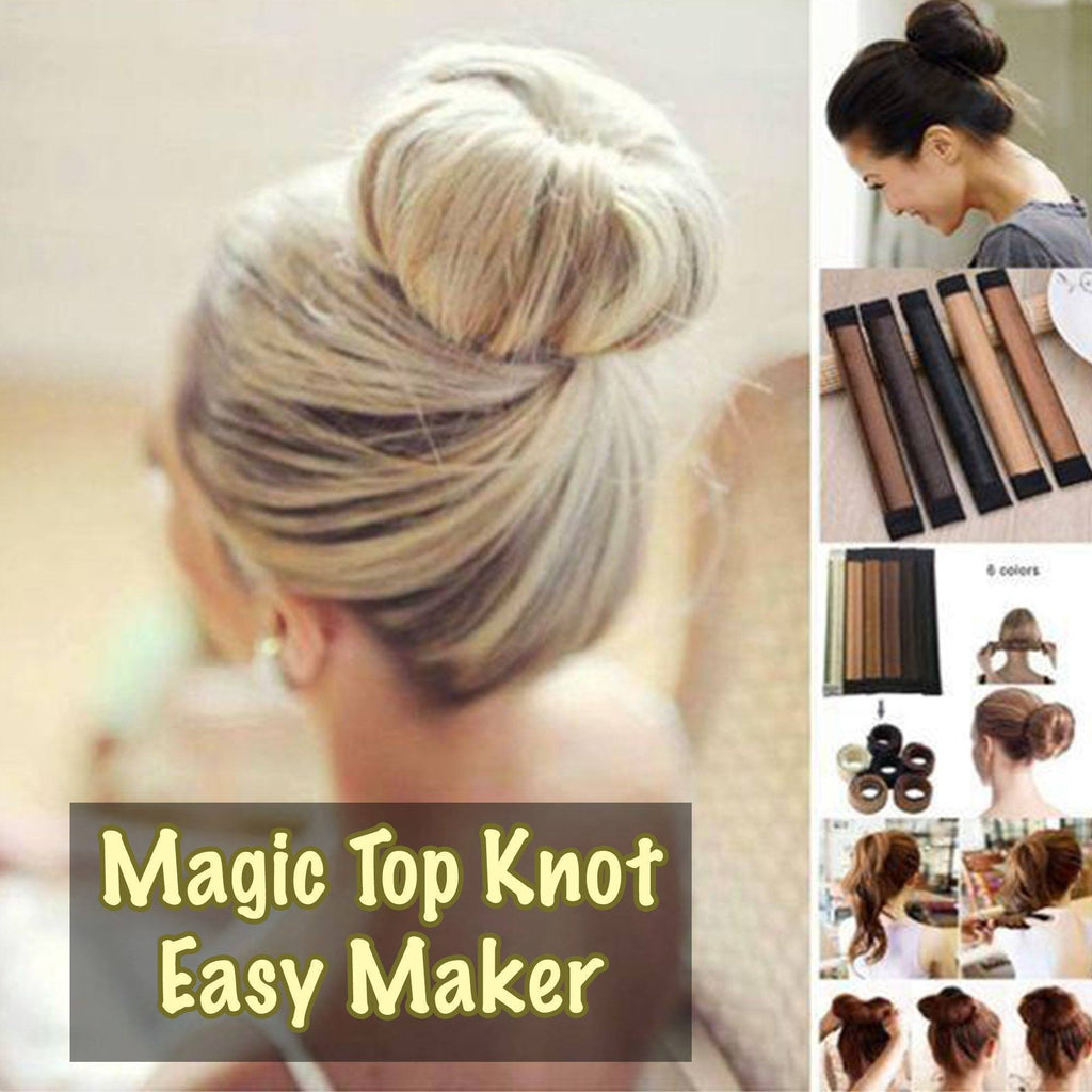 Magic Top Knot Easy Maker - Set For 2