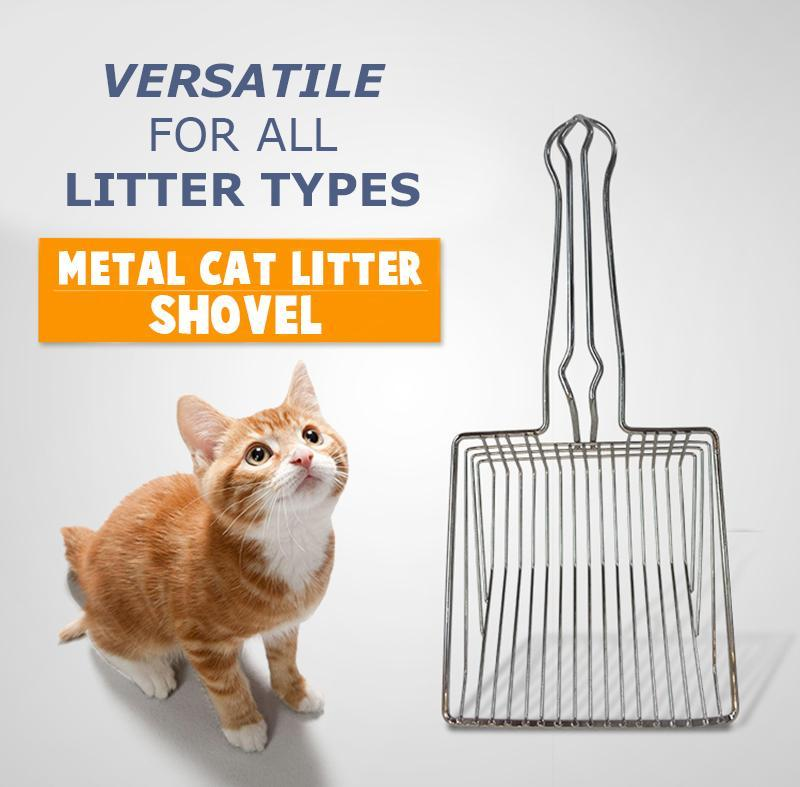 Metal Cat Litter Shovel