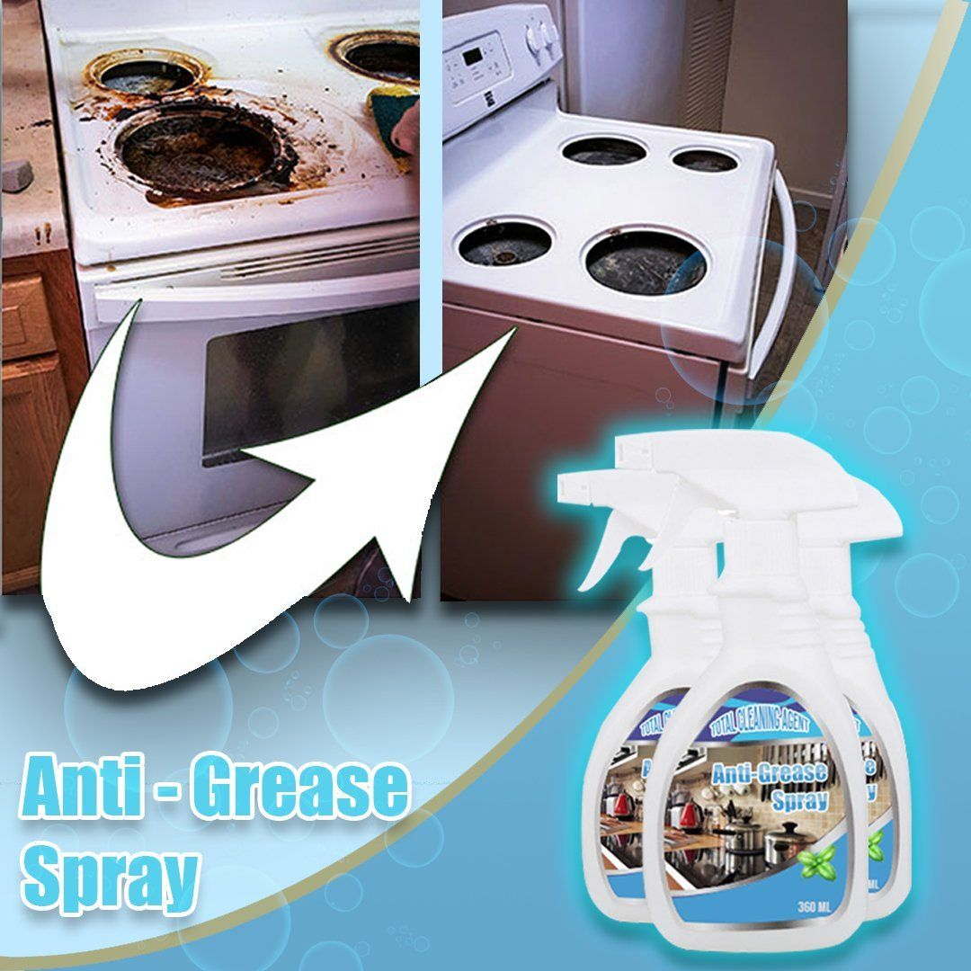 Anti-Grease Bubble Spray