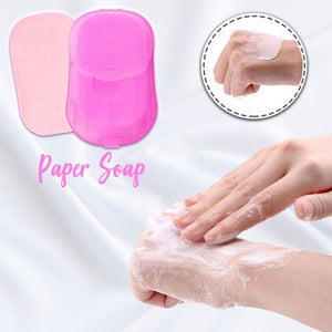 On-The-Go Paper Soap