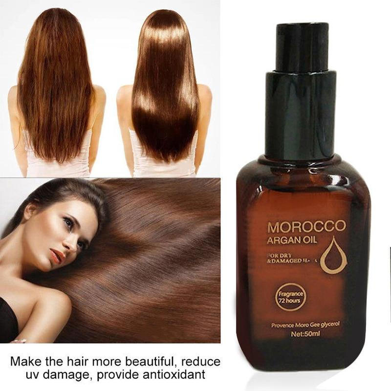 9s Damaged Hair Repairing Moroccan Argan Serum